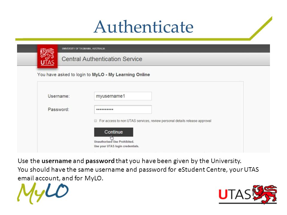Access Your Unit/s Click on the Unit name to open that unit's MyLO site
