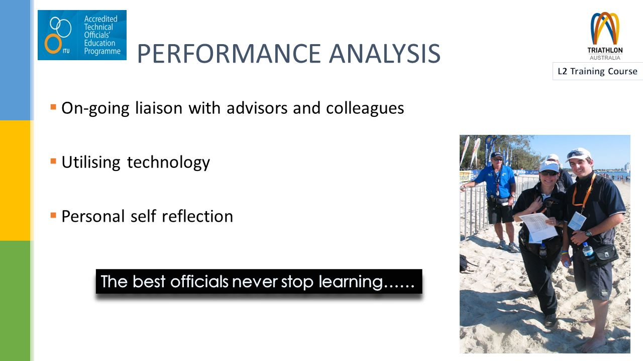  Assessing mental readiness  Controlling/modifying mental approach  What is your personal mental preparation plan  Group Activity – You are RR for the Bribie Island Triathlon.