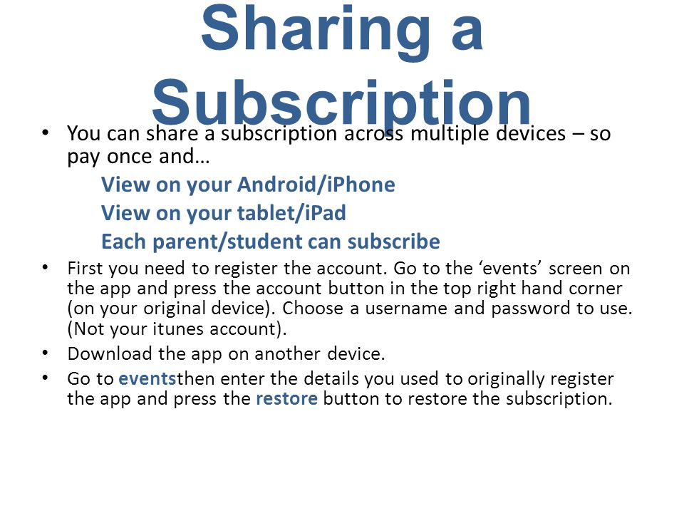 Need Help.Click on the link below to see a clip of how to set up the app.