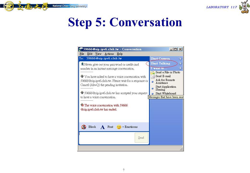 8 TAC2000/2000.7 LABORATORY 117 Step 6: Answer A Call
