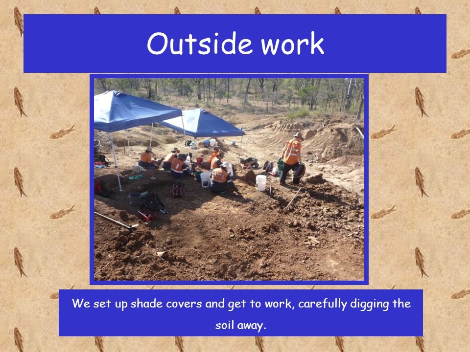 Outside work We use different types of tools. Can you think why?