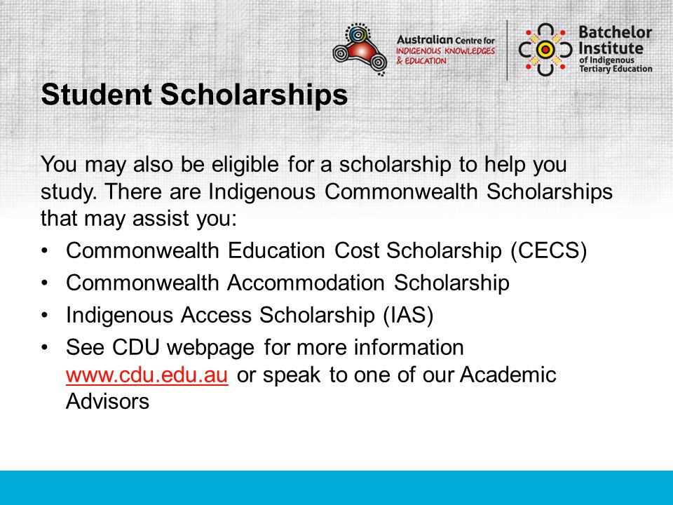 The South Australian Tertiary Admissions Centre (SATAC) receives and processes applications for admission for the Australian Centre for Indigenous Knowledges and Education (ACIKE).
