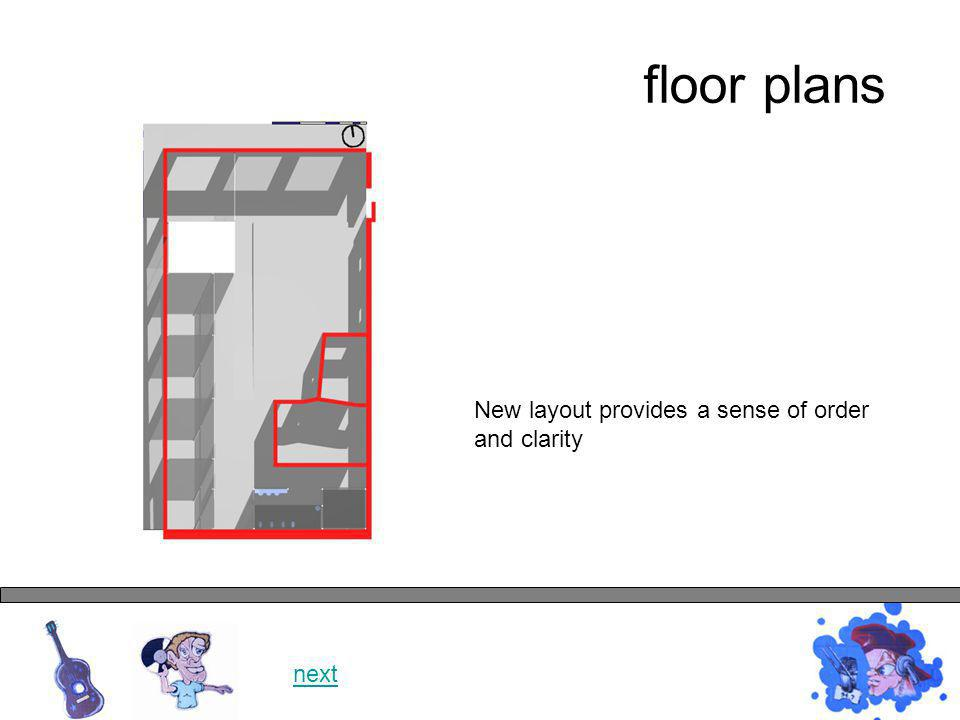 floor plans next Internal courtyard provides sculptural focus and external space.