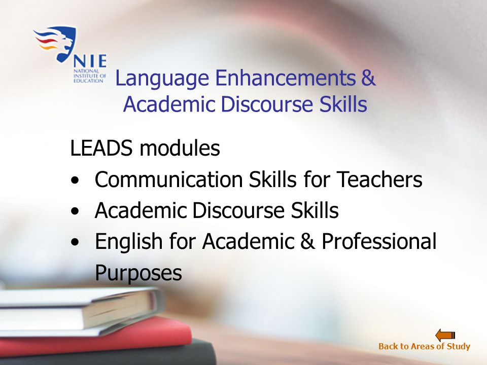 Develop understanding of fundamental concepts and principles in specific disciplines.