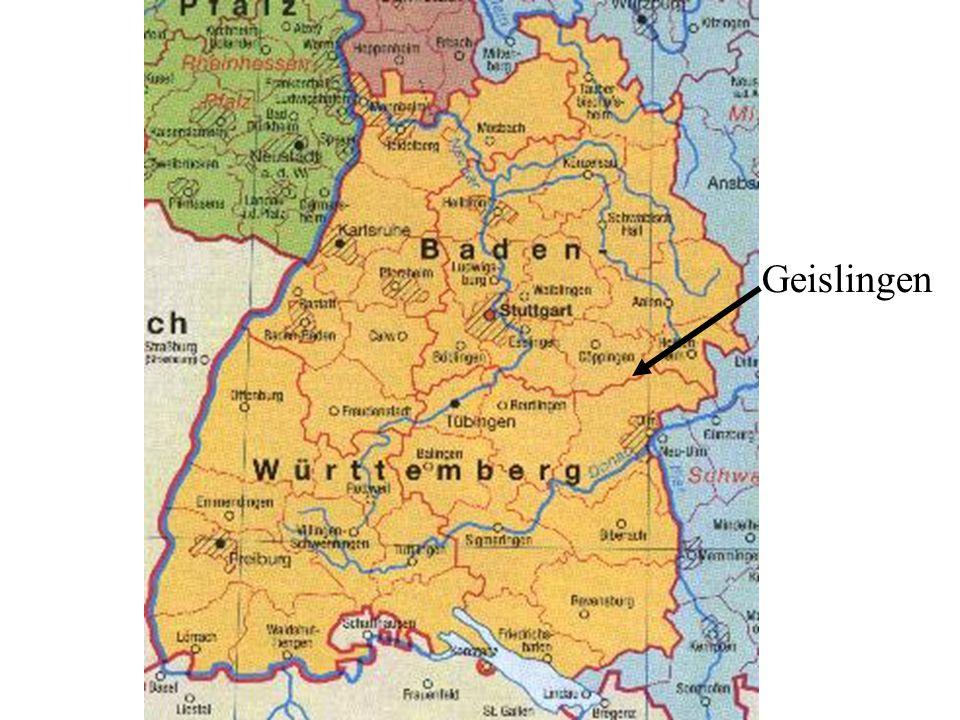 Geislingen- the city with 5 valleys