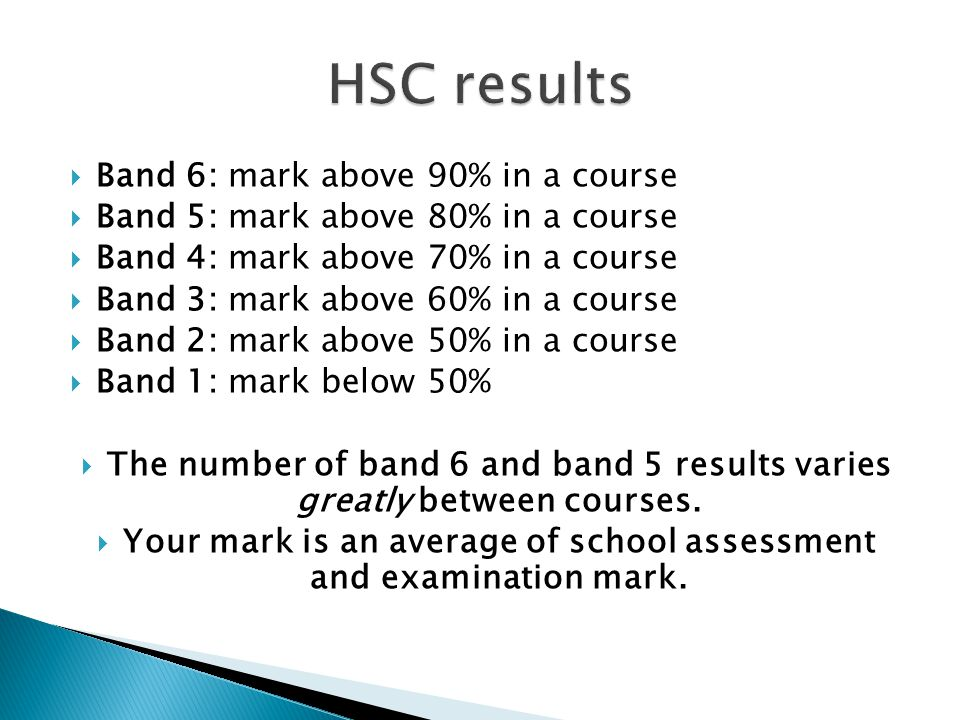  The measure used by universities for entry to courses.
