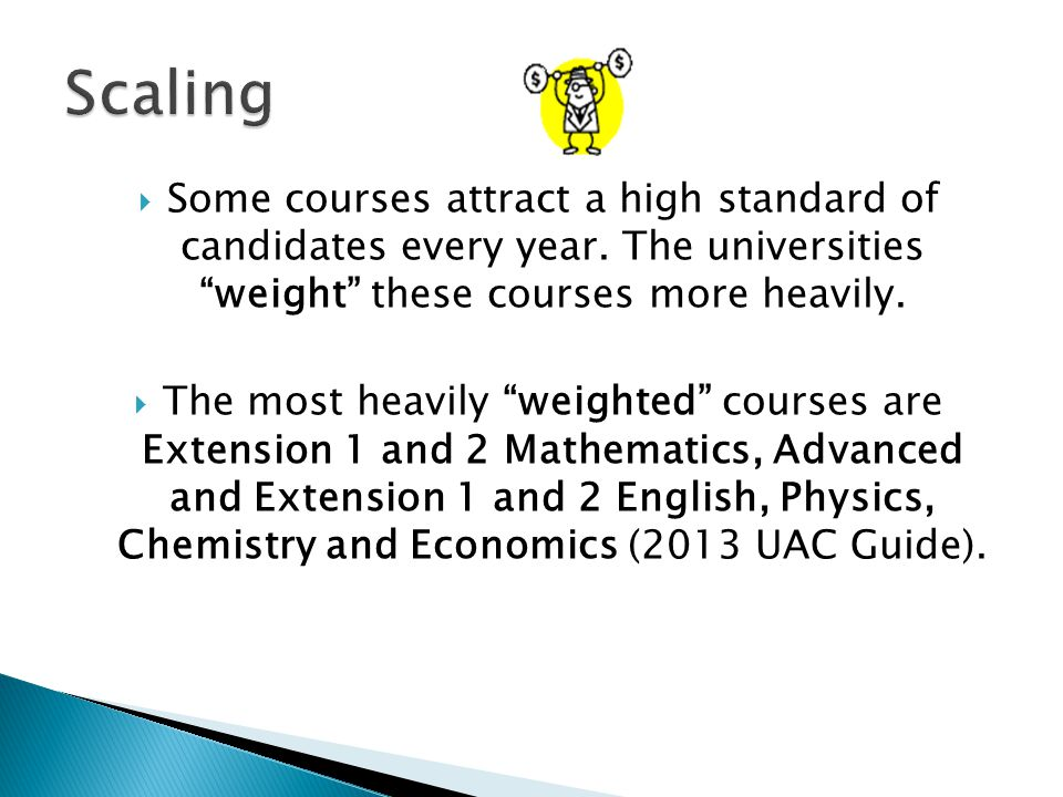  More than 90 ATAR-Usually 2 Band 6 results with strong Band 5 results in most other courses.