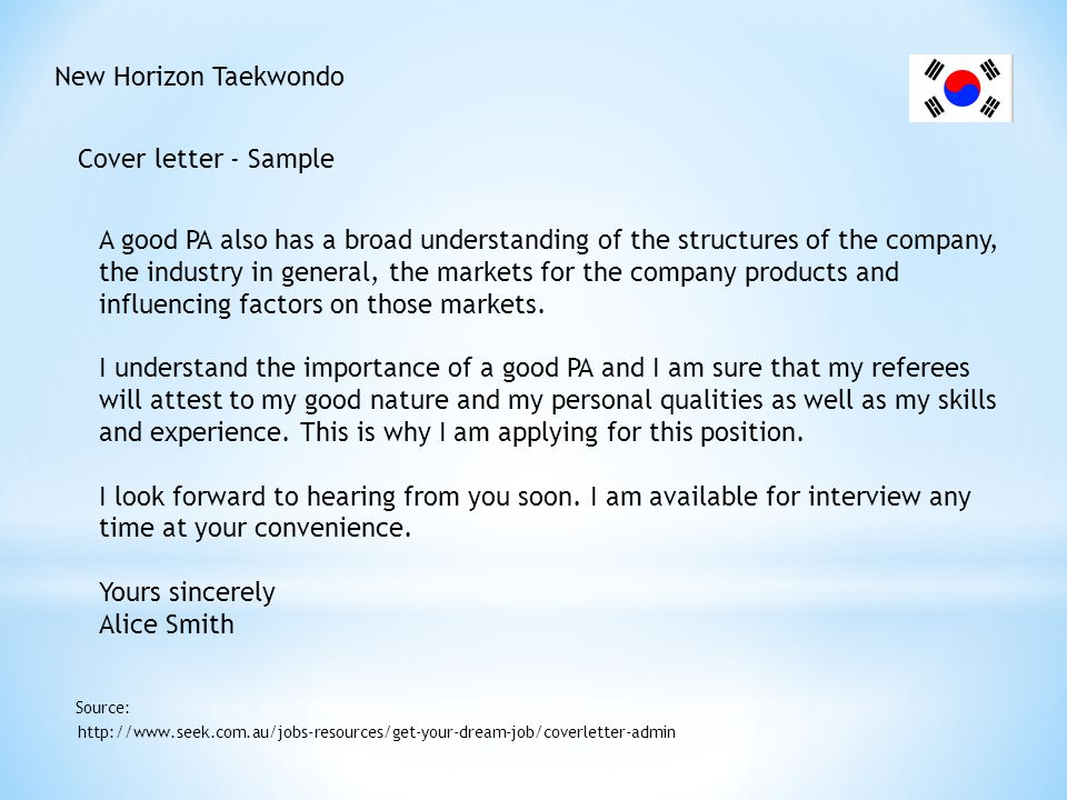 New Horizon Taekwondo Resume' - Tips http://www.kellyservices.com.au/AU/Careers/my-Career-Centre/Resume-Writing-Tips/ Source: Do: Use action words, such as developed, managed and designed.