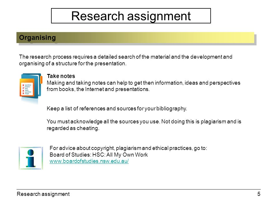Research assignment6 Research assignment check list: 1.Is the topic and focus clear.