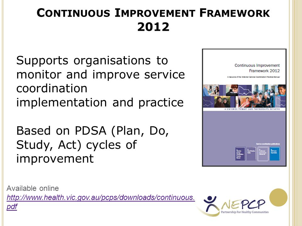 S ERVICE C OORDINATION T OOL T EMPLATES 2012 U SER G UIDE Suite of referral templates Standardised format for collection and sharing of consumer information Supports service coordination practice Formalised documentation of consumer consent Available online: http://docs.health.vic.gov.au/docs/doc/0043138AFA 564E4FCA257A5B0019239A/$FILE/1206018_SCTT_j un12_12.pdf