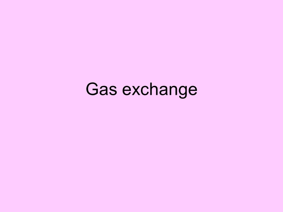 Gas Exchange in the Body The exchange of gases between the lungs and blood, and their movement at the tissue level, takes place passively by diffusion