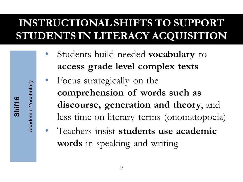 2010 Arizona English Language Arts Standards Key Design Considerations INTRODUCTION 24