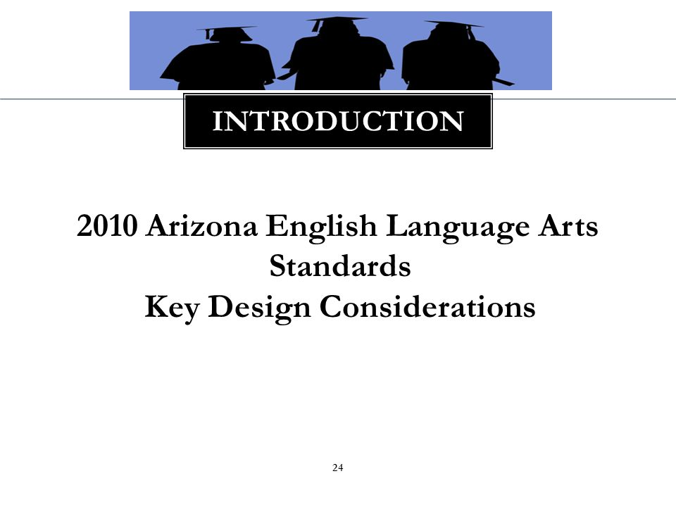 25 KEY DESIGN CONSIDERATIONS College and Career Readiness Anchor Standards K-5 Comprehensive English Language Arts (includes Social Studies, Science and Technical Text) 6, 7, 8, 9-10, 11- 12 ELA Content 6-8, 9-10, 11-12 Literacy in History/Social Studies, Science, and Technical Subjects Appendices A, B, and C