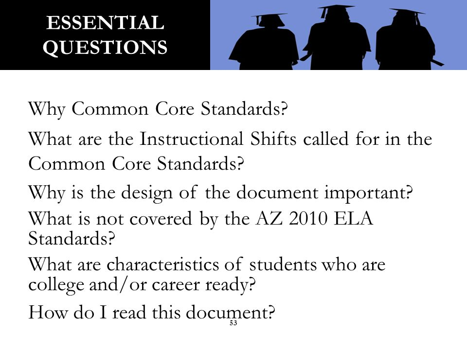 Using the document as a foundation for building teacher understanding about the 2010 Arizona ELA Standards, think about what you have learned and what you will take back to your site or classroom.