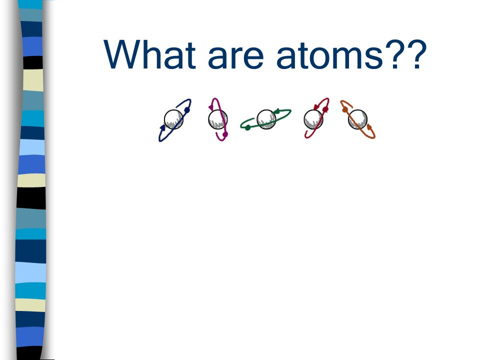 What are atoms??
