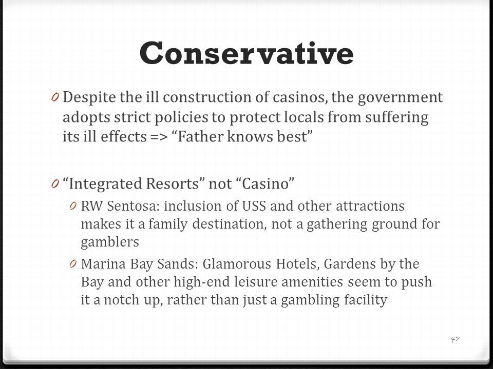 Liberal 0 developing attractions according to the tastes of the tourists, despite threats to our traditional values e.g.