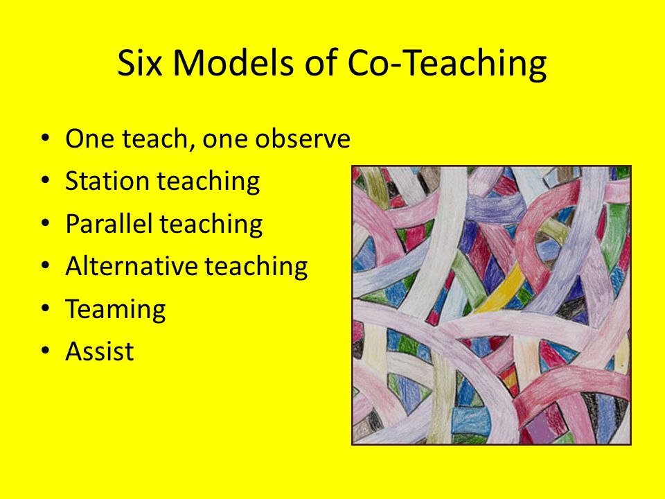One Teach, One Observe One teaches one observes pre-determined components (i.e.