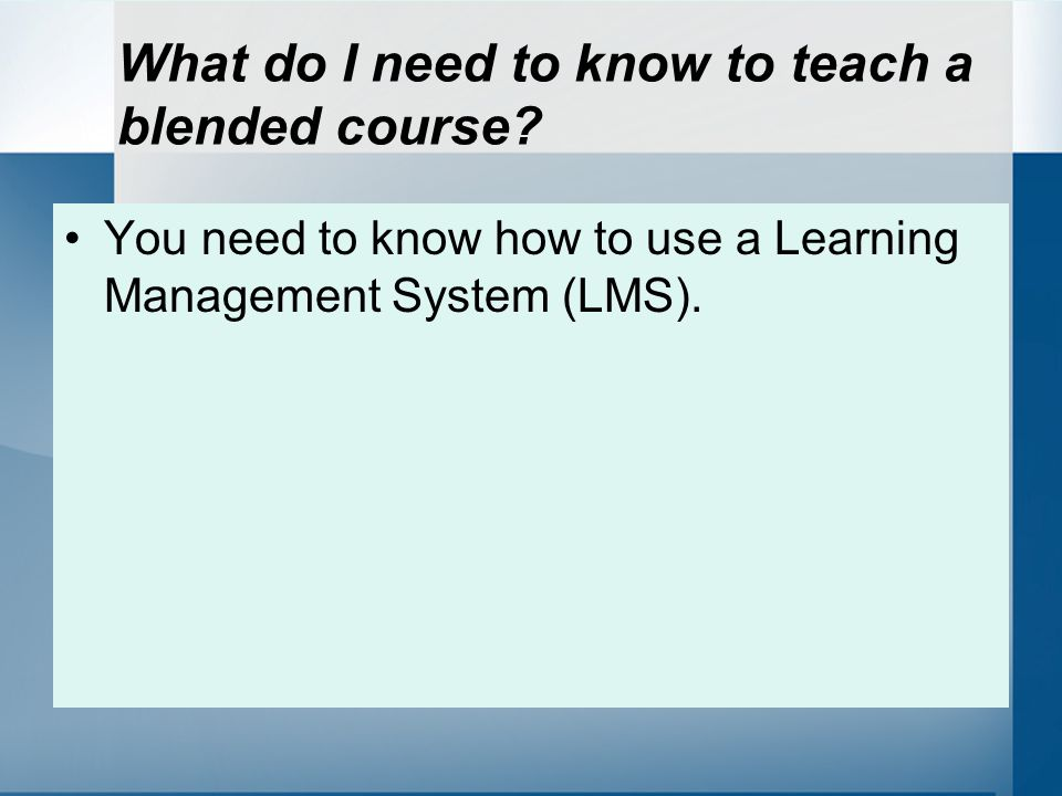 What is a Learning Management System (LMS).