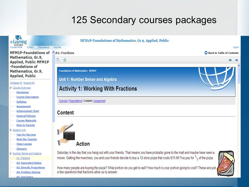 And 18 Elementary course packages