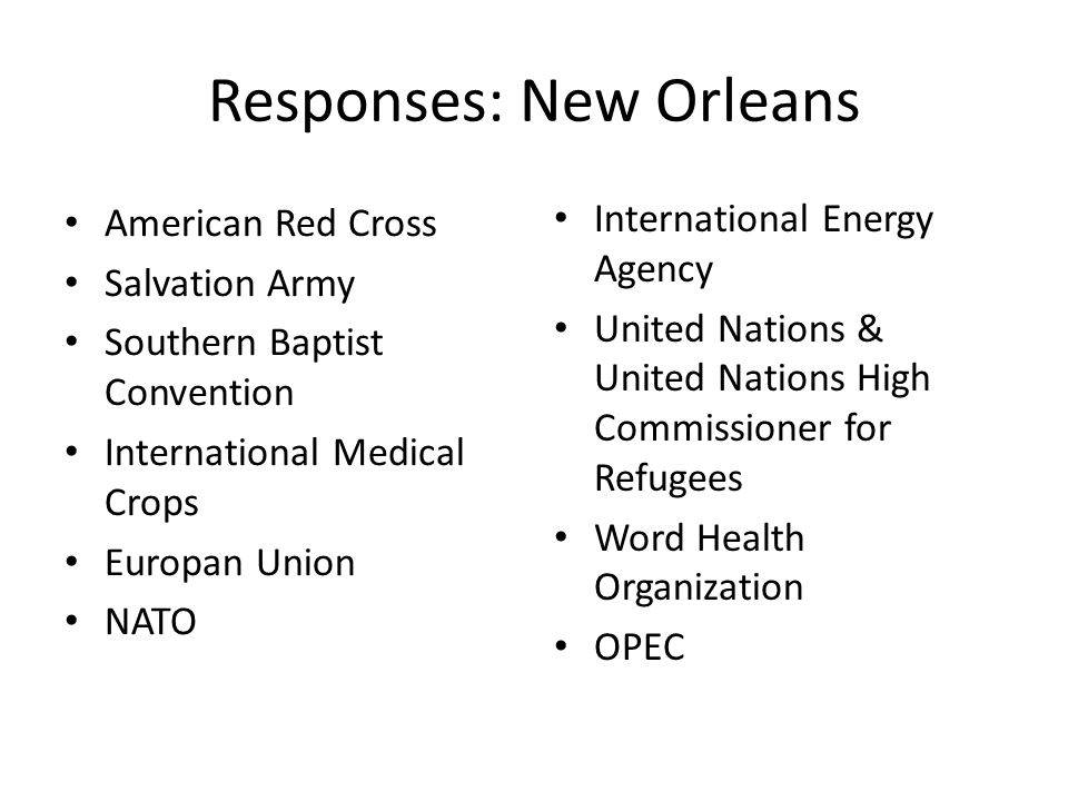 Responses: Bangladesh American Red Cross NGO Bangladesh Armed Forces United Nations 1.3 Non-Aligned Movement 1.4 Organisation of Islamic Cooperation 1.5 South Asian Association for Regional Cooperation Word Health Organization Centre on Integrated Rural Development for Asia and the Pacific Bay of Bengal Initiative for MultiSectoral Technical and Economic Cooperation Developing 8 Countries Asia Pacific Trade Agreement World Trade Organization