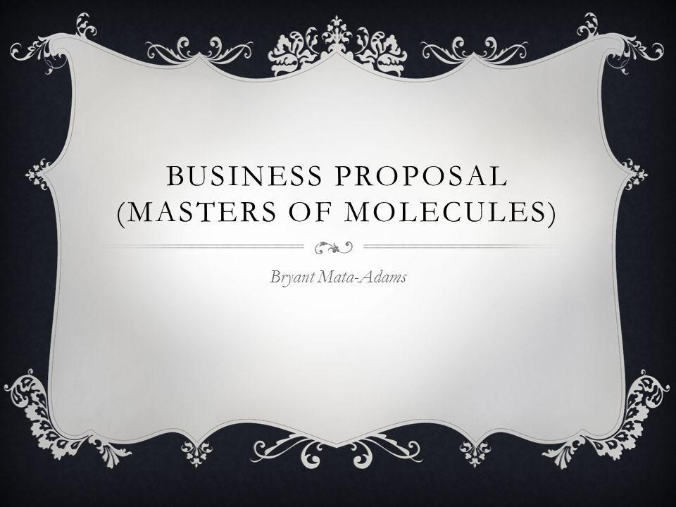 WHAT IS MASTERS OF MOLECULES.