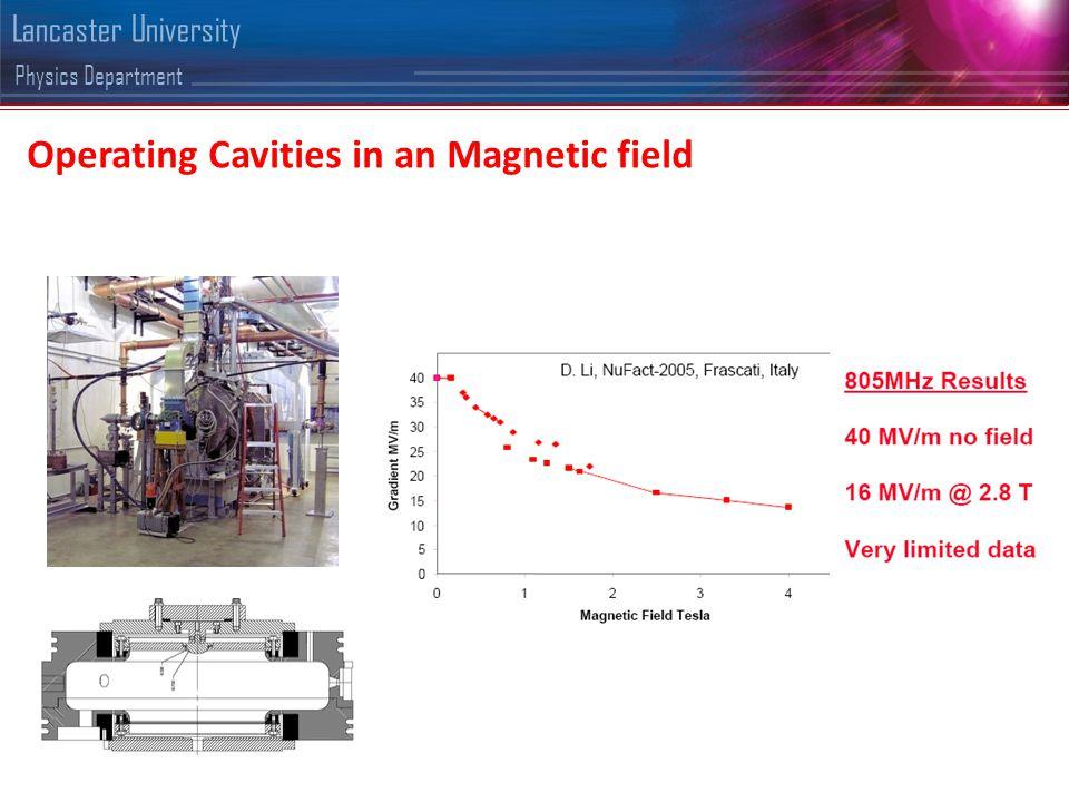 Physics Department Lancaster University Where do the electrons go......