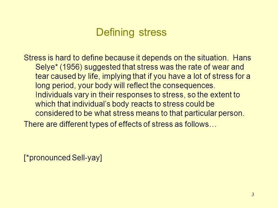 4 Introduction: the effects of stress 1.