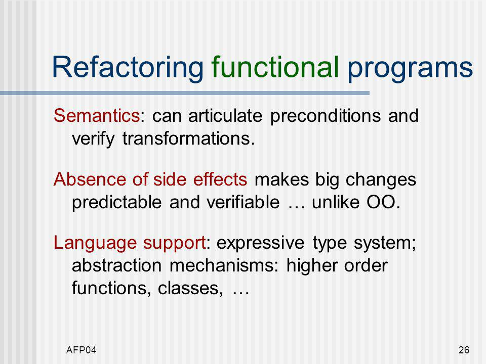 AFP0427 Rename f x y = …  Name may be too specific, if the function is a candidate for reuse.