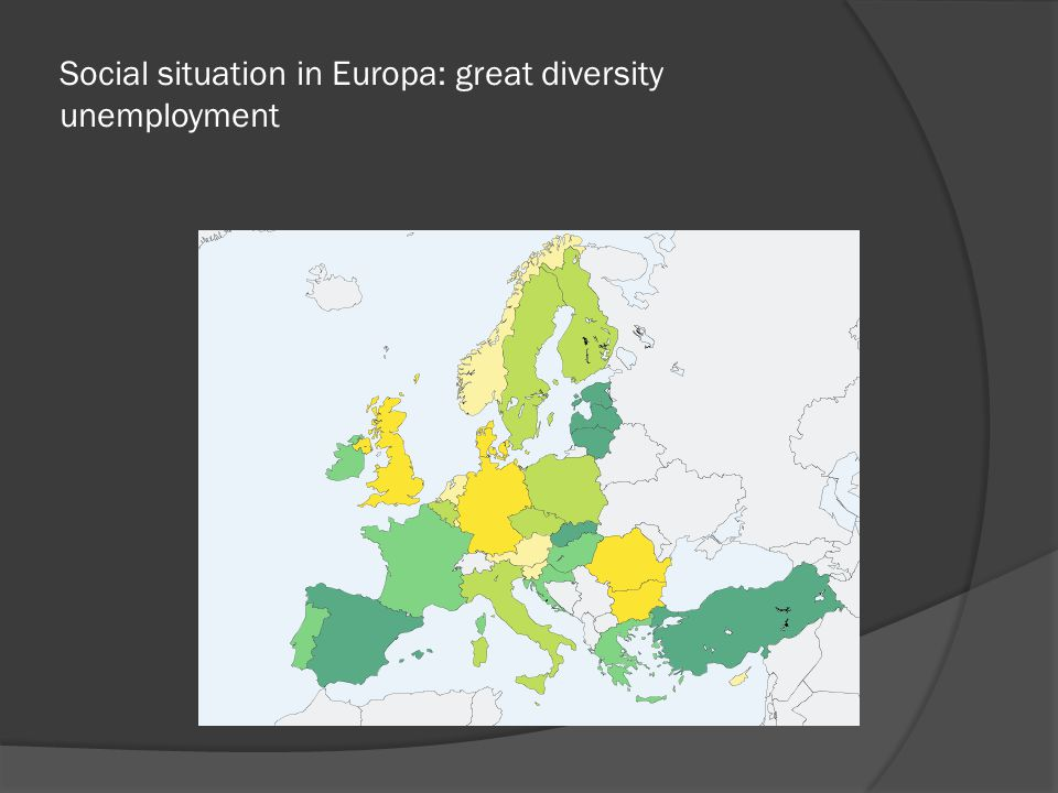 Social situation in Europe: great diversity (child) poverty