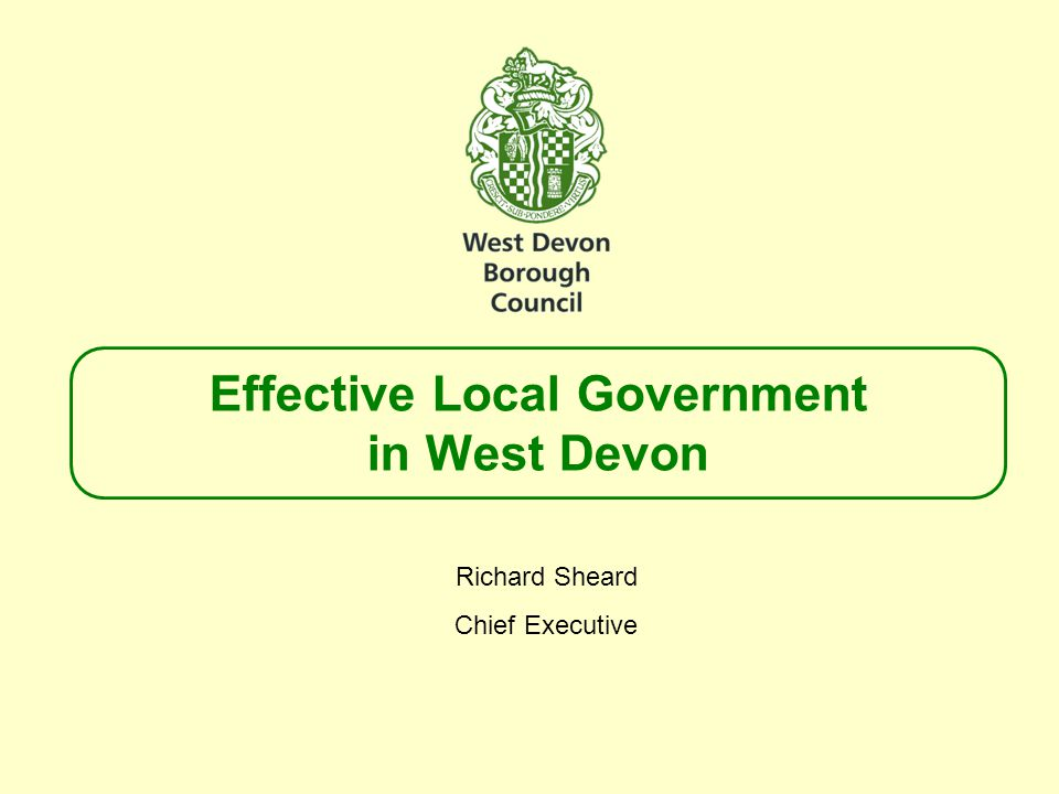 Purpose  To demonstrate to the Local Government Boundary Commission that we have thought through our submission on numbers  NOT to bounce Members into any decision on alternative arrangements  Can conclude that none of the options set out in this presentation will materially affect the number of Councillors needed