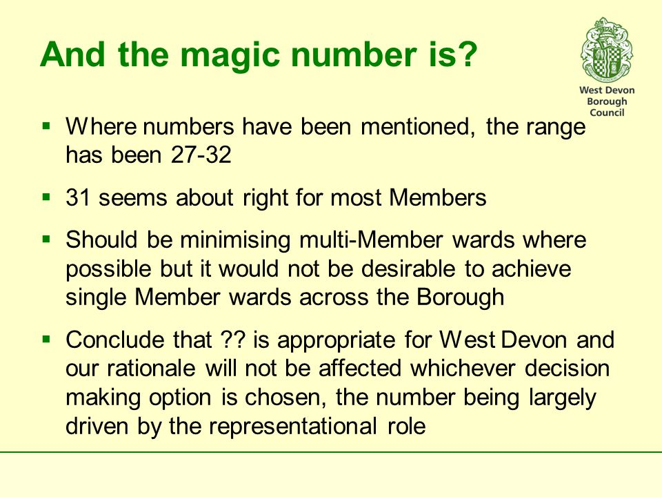 We have been cutting edge before  No reason why we cannot think radically again and do things the West Devon way  Is there the appetite to test one of the alternative leadership/decision making structures; a discretionary approach to O&S; beefed up role for full Council as described.