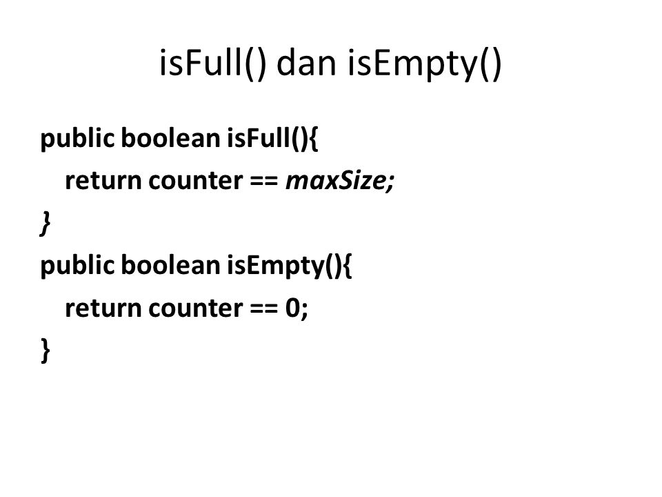 sisipData(int value) public void sisipData(int value) { if (!isFull()){ data[++counter] = value; siftUp(counter); }