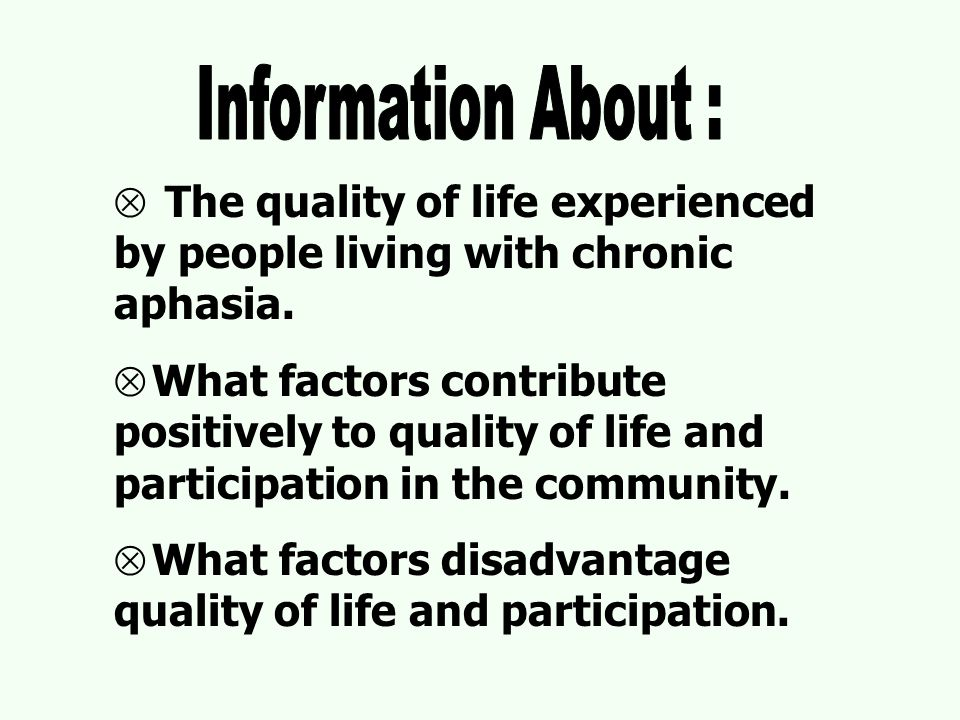  The Stroke Impact Scale  The Assessment of Quality of Life (AQoL) instrument  Dartmouth COOP Functional Assessment Charts/ WONCA  MOS SF 36 Chose Dartmouth COOP and AQoL.