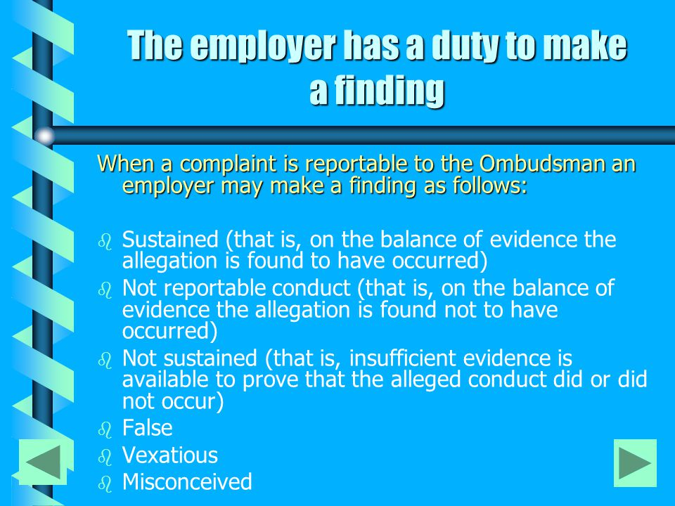 What happens to the documentation relating to the complaint .