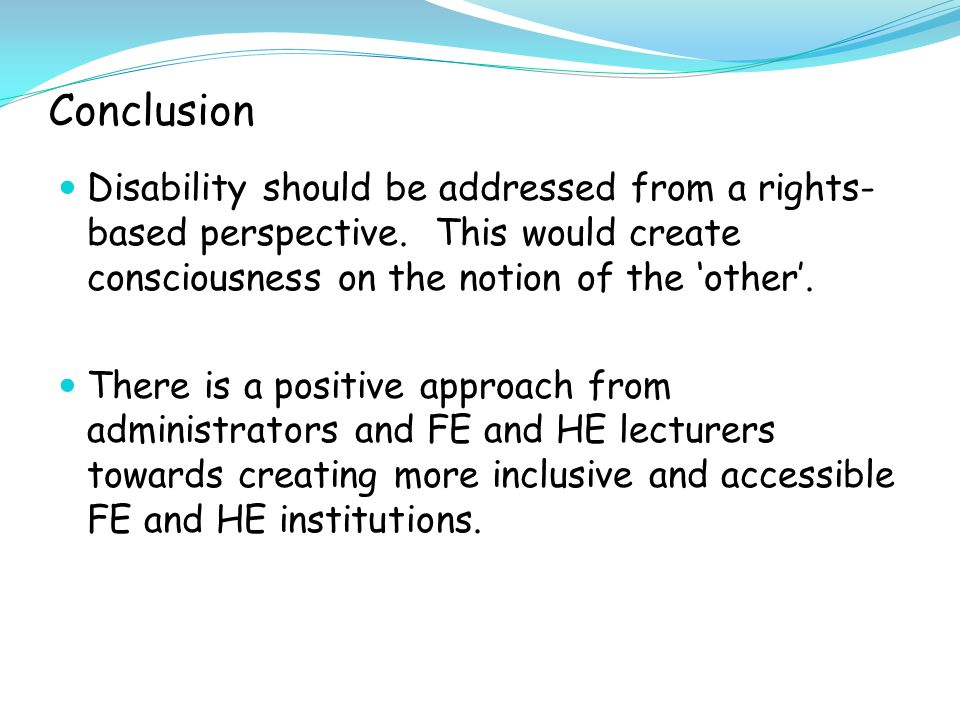 Inclusive pedagogical and theoretical approaches would benefit all students and staff.