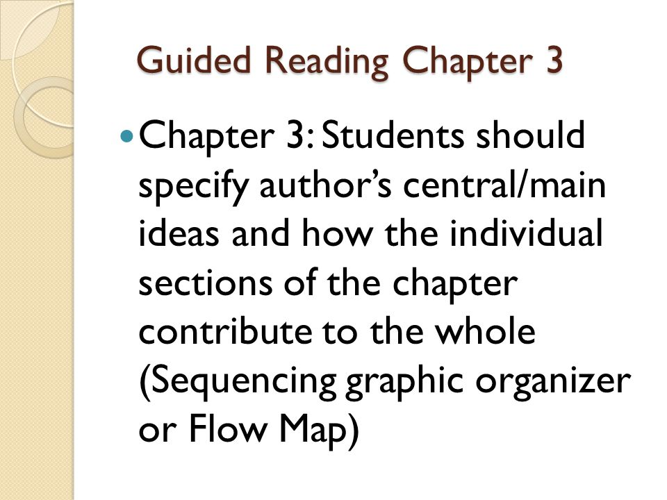 Homework Read Chapter 4.Take notes on symbolism found in this chapter.