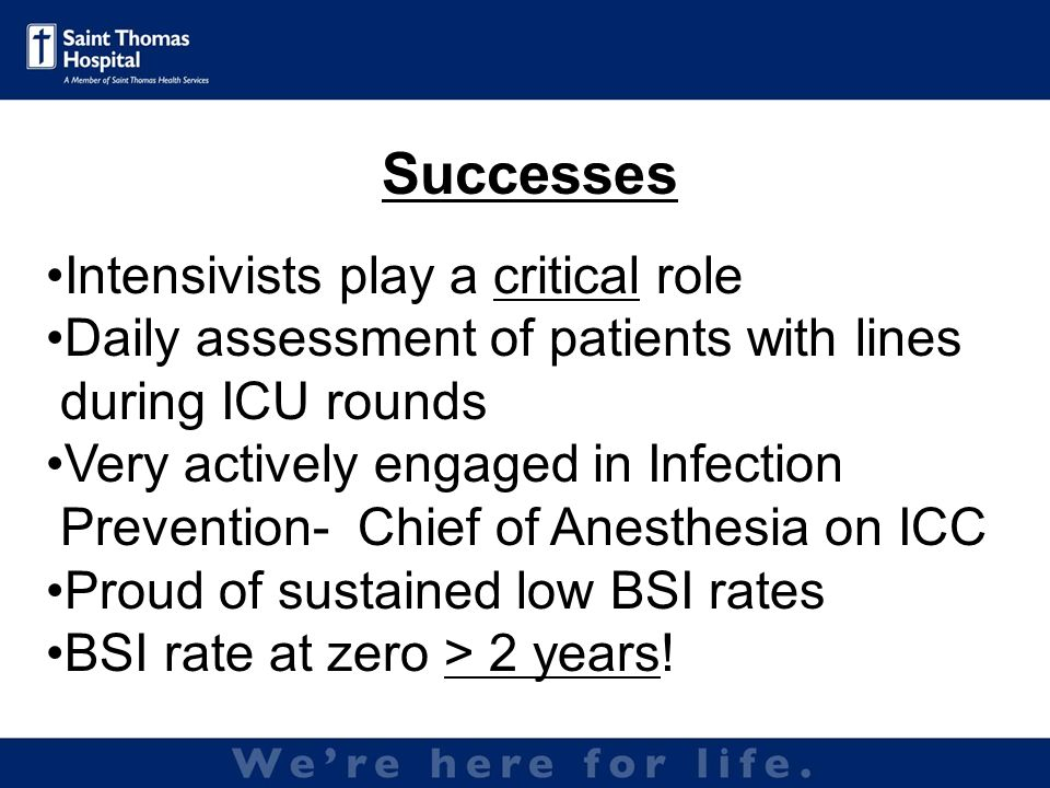 Inserted by IV Therapy Team Radiology inserts PICCs if IV therapy not successful Have recently implemented Maximal Barrier Kits with all PICC insertions Safety needles used Challenges with dressing/site care not always done per policy Majority of BSI infections are r/t PICCs PICC lines