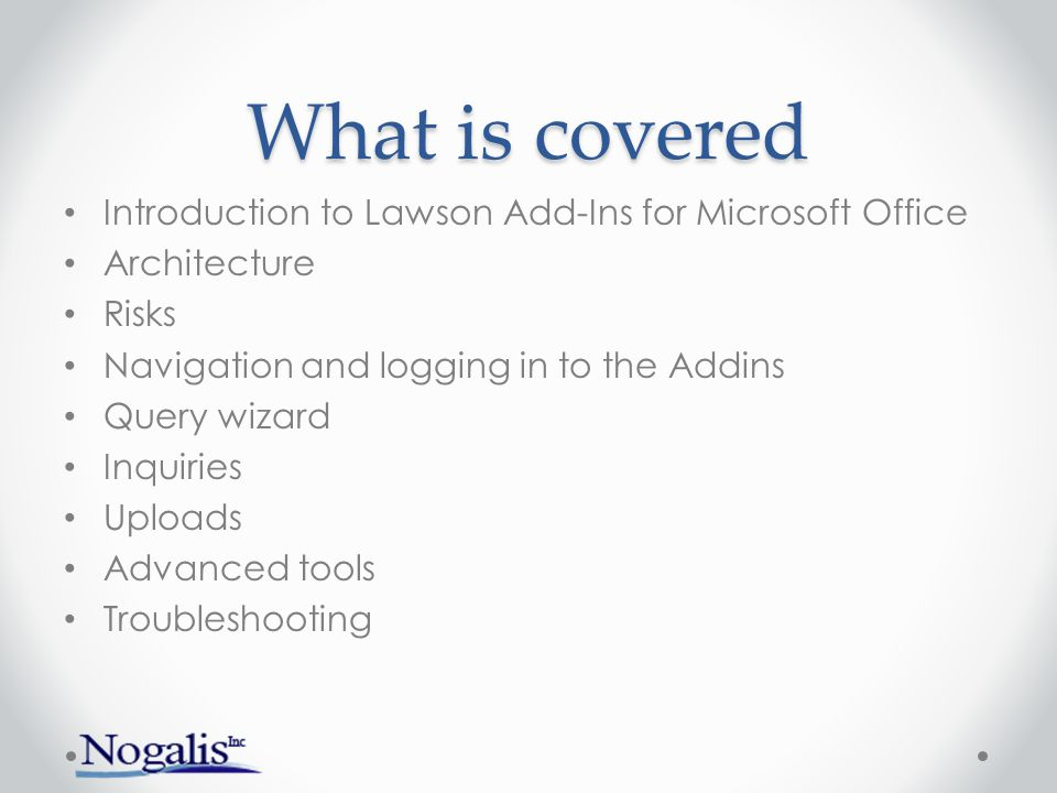 Introduction to Addins What are they.