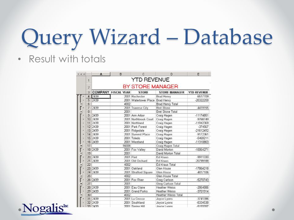 Query Wizard – Inquiries Log in and choose Application/form to Inquire Add fields Used to build upload template