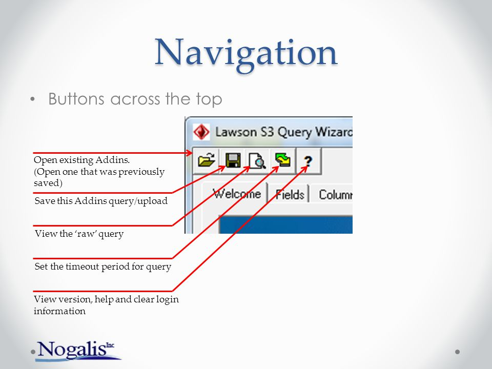 Navigation Navigate either with Tabs or Next-Previous Click Tabs - or - Click Next/Previous