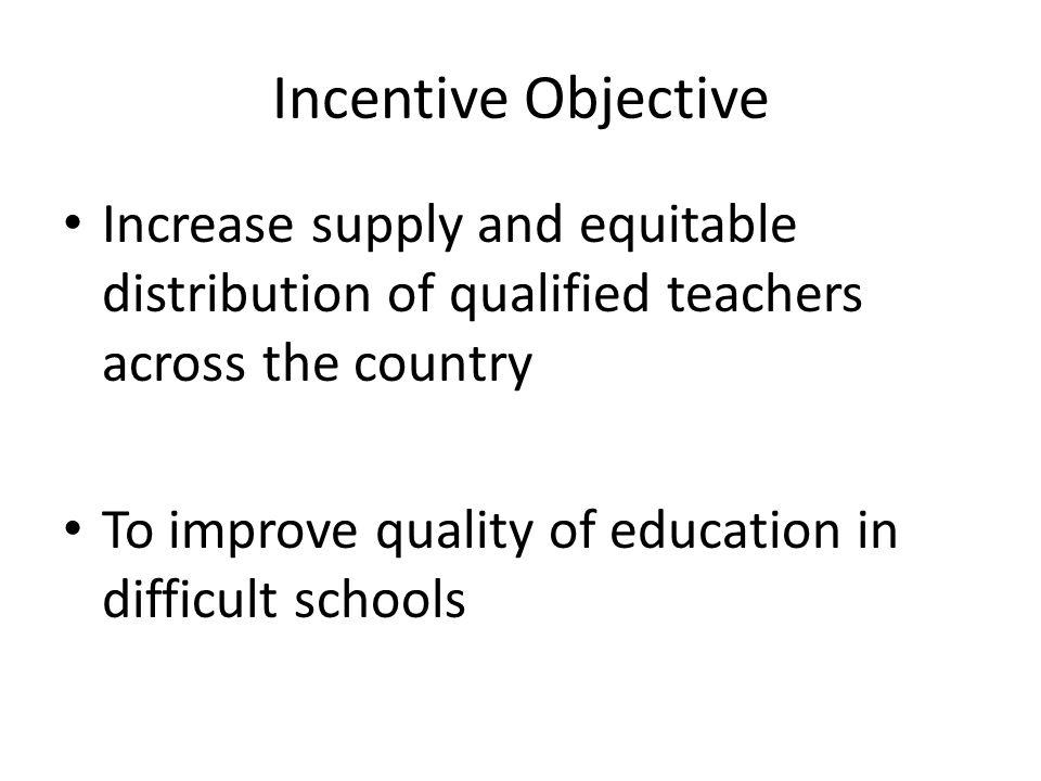 Target 400 primary schools in difficult areas 1600 teachers