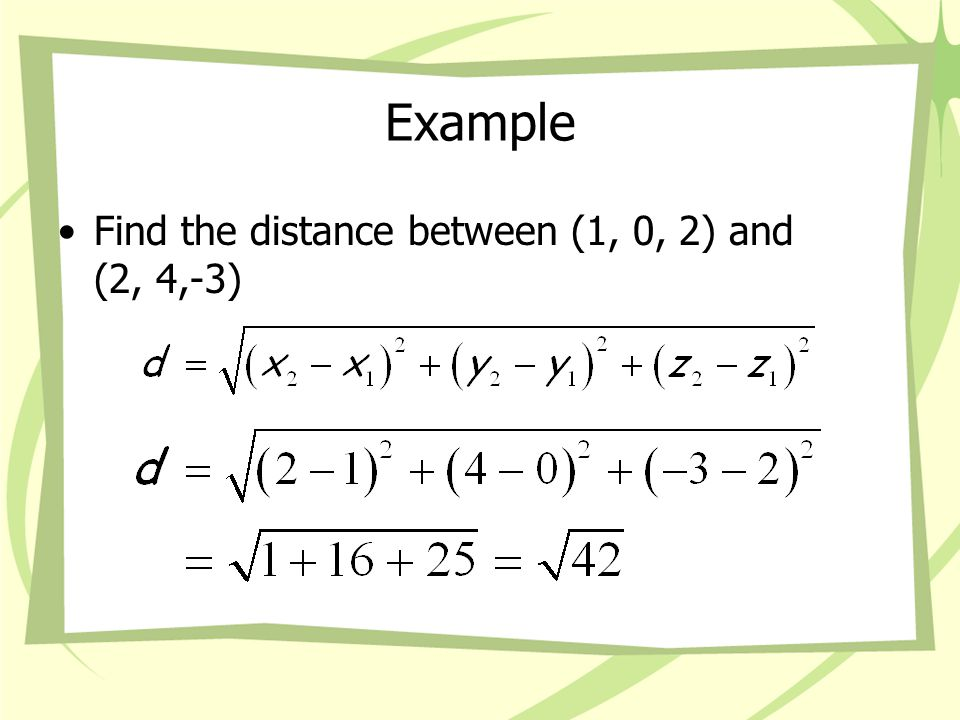 Midpoint Formula The midpoint formula is What is the midpoint if you make a 100 on a test and an 80 on a test.