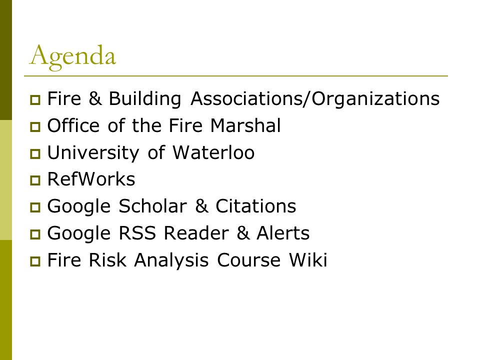 Theres Research Papers on Fire/Building Sites… Really!?.
