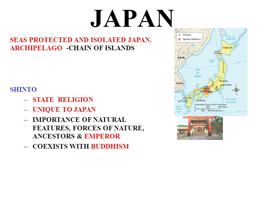 JAPAN SEAS PROTECTED AND ISOLATED JAPAN.
