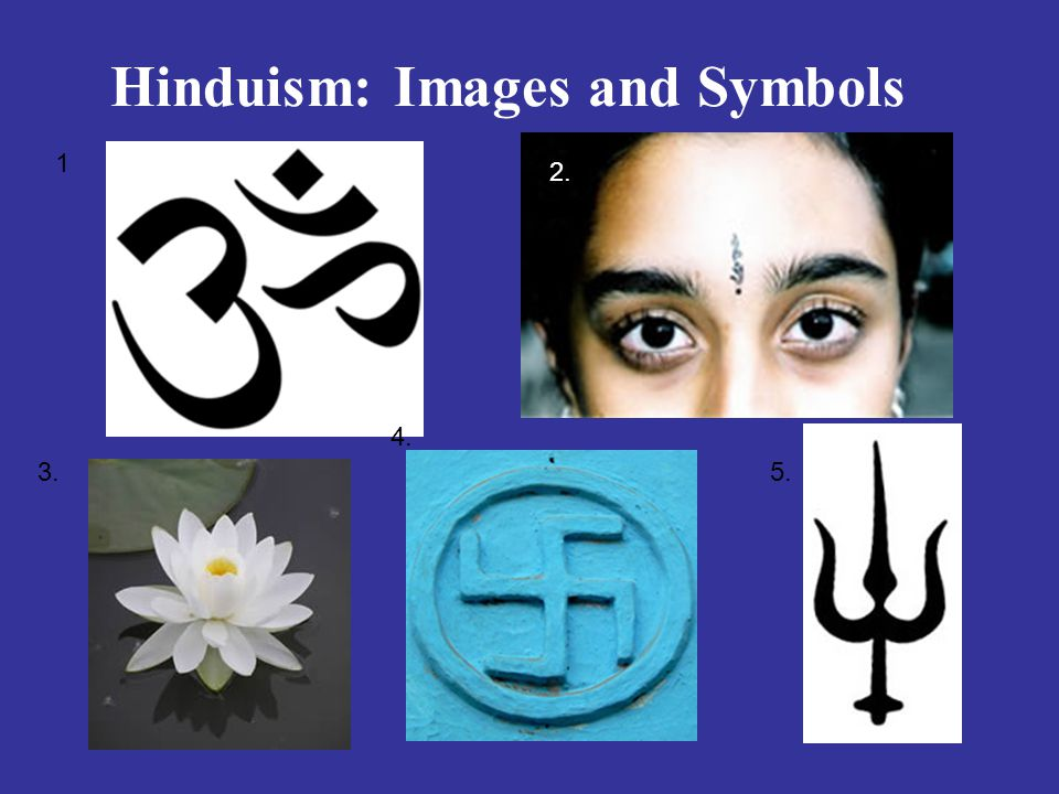 Hinduism: Images and Symbols 1 2. 3. 4. 5.