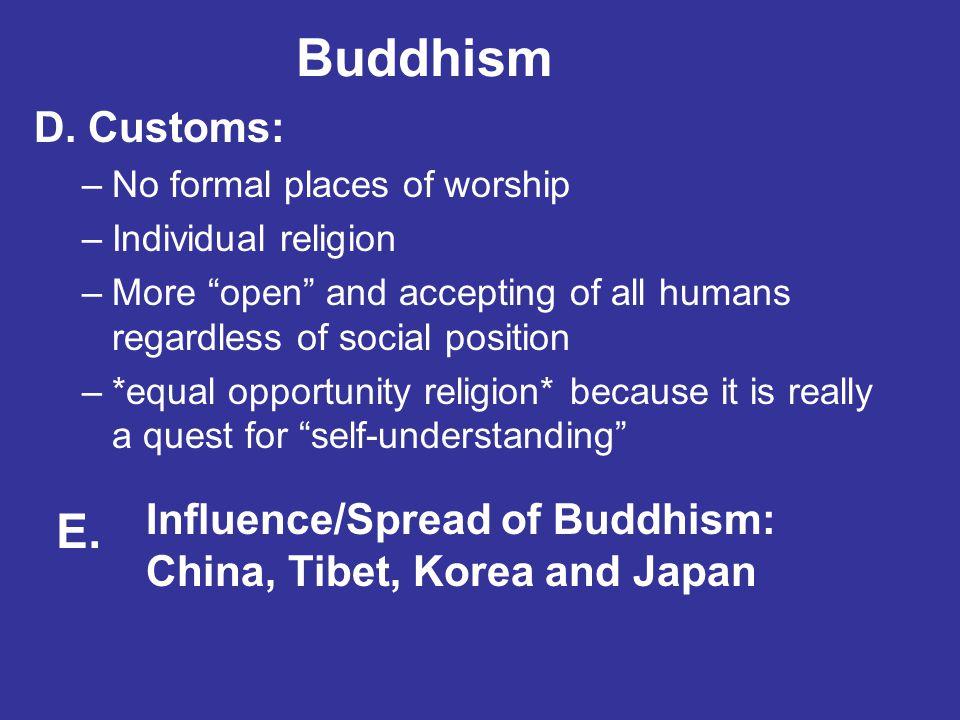 Buddhism D.