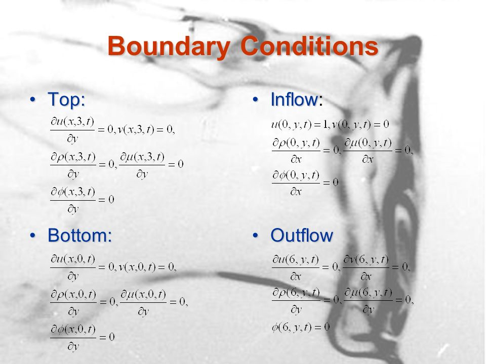 Liquid-Liquid System: Vibrational Break-Up Density Contour Plot: corium droplet in water, We i = 13, U i = 0.816 m/s, d = 9200 kg/m 3, d = 0.000282 Pas, D = 9 mm, = 0.45 N/m d = 9200 kg/m 3, d = 0.000282 Pas, D = 9 mm, = 0.45 N/m w = 996 kg/m 3, w = 0.000854 Pas, 60X30 grid w = 996 kg/m 3, w = 0.000854 Pas, 60X30 grid