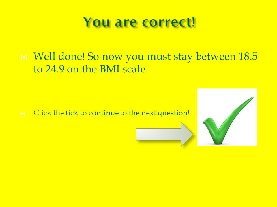 How do you know if you are obese.You have a BMI of 20.