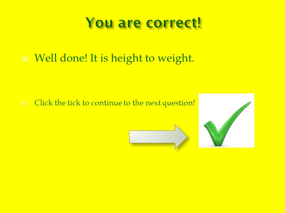 How do you know if you are overweight.You have a BMI of 20.