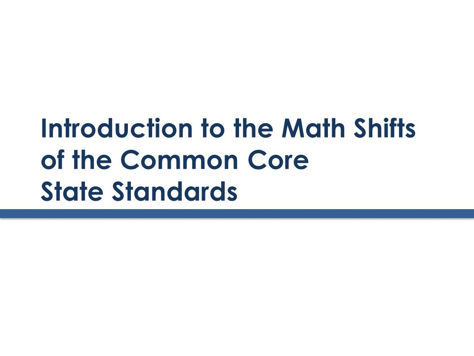 www.achievethecore.org Structure of the Standards Domains are large groups of related standards.